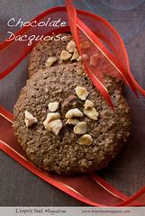 Chocolate dacquoises (Scrumptious Venus) Tags: food french recipe dessert cookie chocolate desserts hazelnut styling dacquoise dessertrecipes lespritsudmagazine gastronomymagazine lespritsudmagazinedessert lespritsudmagazinedesserts