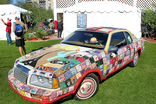 Patchwork Art Car