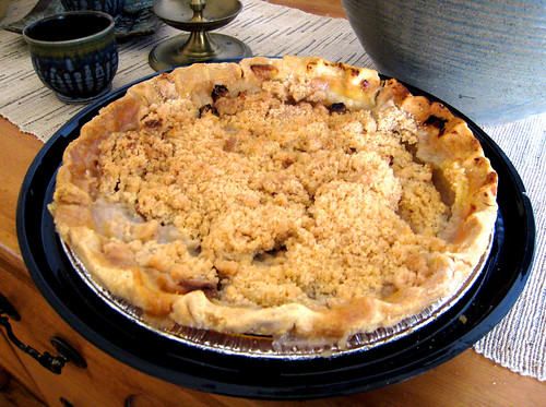 Gluten Free Apple Crumb Pie