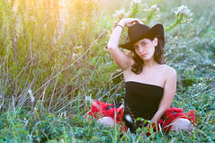 Natalie (DEARTH !) Tags: portrait field fashion tx houston delete natalie cowgirl cowboyhat