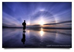 Indahnya Dhuha Itu #1 (AnNamir c[_]) Tags: sun beach nature silhouette sunrise canon amazing sigma halo malaysia parhelion moment siluet 1022mm sundog hdr kuantan pahang 1022 timur pantai happynewyear u