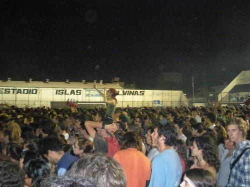 Manu Chao en el Estadio Islas Malvinas