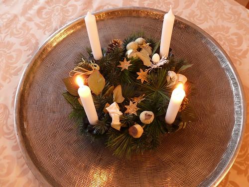 Advent: Zweite Kerze brennt