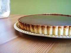 chocolate crunched caramel tart - 35