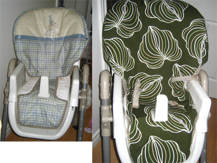 Car Seat Protector >> Baby High Chair Cover Pattern – Sewing Patterns for Baby
