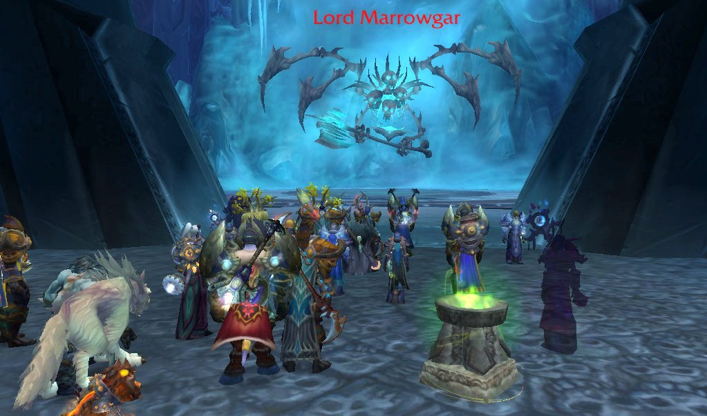 let's go kill Marrowgar!