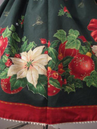 Christmas skirt 2009 007
