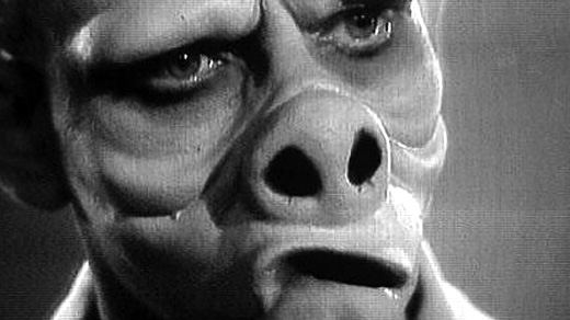 This is what happens when you eat the brown acid in The Twilight Zone: Eye of The Beholder (1960)