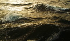 the turbulance and symmetry of waves