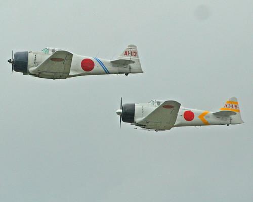 Warbird picture - Mitsubishi A6M Zero