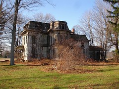 Abandoned Mansion, Milan, OH (Equinox27) Tags: ohio house milan abandoned farmhouse ruins decay victorian spooky weathered slate ruraldecay decayed secondempire