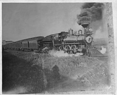 Union Pacific Locomotive. ca. 1898. (Council Bluffs Public Library Special Collections) Tags: train iowa unionpacific spanishamericanwar councilbluffs p34