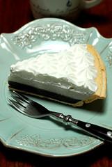 chocolate haupia cream pie / TED'S Bakery