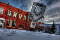 Device to root out evil (Anotherstateofmind) Tags: winter snow calgary church hdr ramsay devicetorootoutevil