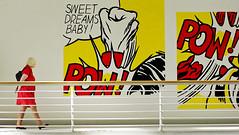 Dame en rouge, sweet dreams baby ! (rv33) Tags: prague tchek pragua rpubliquetchque mirabail scene de vie musee