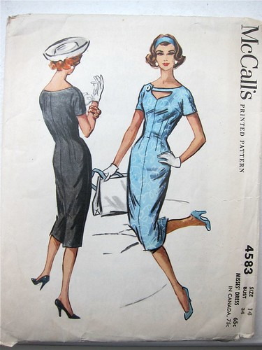 Vintage McCall's 4583 Sheath Dress