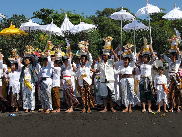 Candidasa Beach Ceremony