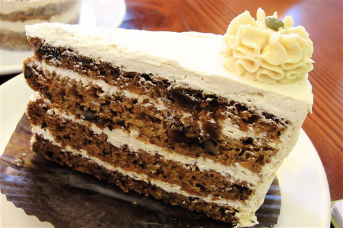 cardboard carrot cake