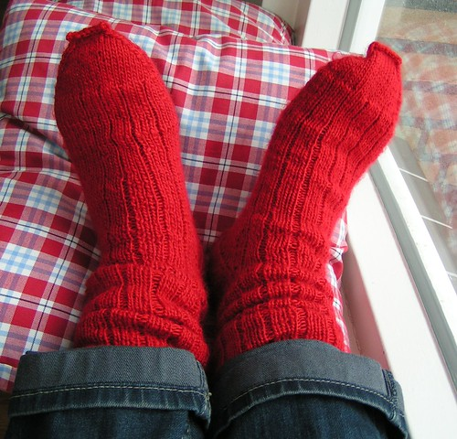 Warm winter socks!