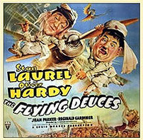 Laurel And Hardy - The Flying Deuces (1939)