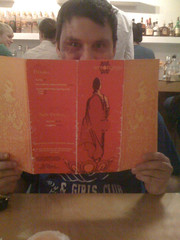 your author at lemongrass thai bistro in macon