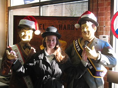 Me with Laurel & Hardy