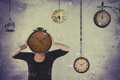 Clocks slay time... time is dead as long as it is being clicked off by little wheels; only when the clock stops does time come to life~ (Pink Pixel Photography (f.k.a. Sunny)) Tags: selfportrait time manipulation explore frontpage selbstportrait clocks sigma1770mm gaaaaaah canoneos7d wwwpinkpixelat pinkpixelphotography reallyreallyreallysadaboutthailandandthewedding zeitisrealtiv undgeduldisteinetugend imissmylifesomuch imsosickofthathospitalstuff