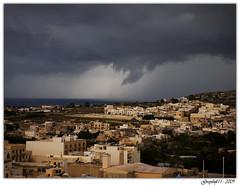 Storm (Greyshift11) Tags: texture statue lumix pluie corcovado panasonic dome palais g1 mm nuage fontaine 45mm orage dmc croix robes malte dôme tempête 1445 grêle 14mm grele redondance dmcg1