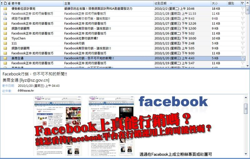 Facebook網路行銷的真相