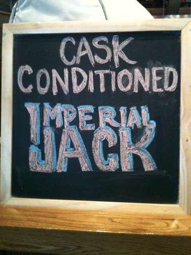 Imperial Jack on Cask