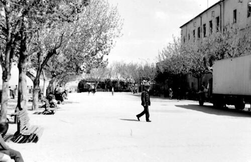 Paseo del Miradero a mediados del siglo XX. Cortesía de Julio Sánchez