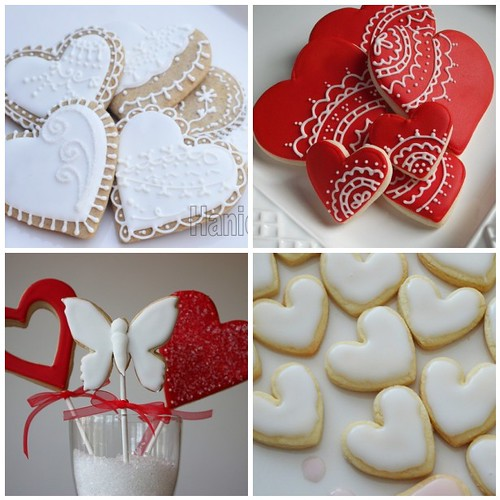 Red & White sweet hearts