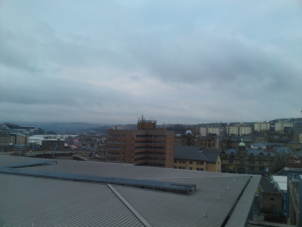 View of Bradford City Centre-Express Holiday Inn