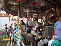 "Preparing to ""ride"" the merry-go-round"