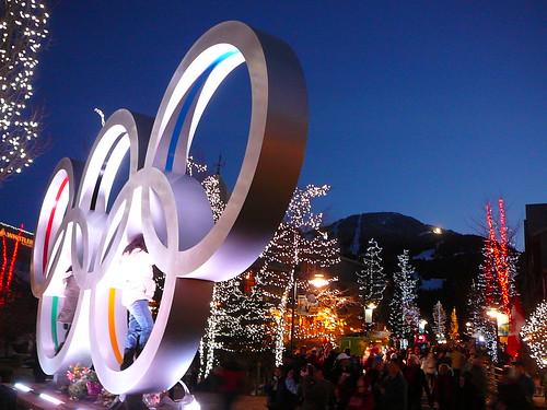 Olympic Rings at Whistler par junksnowgirl