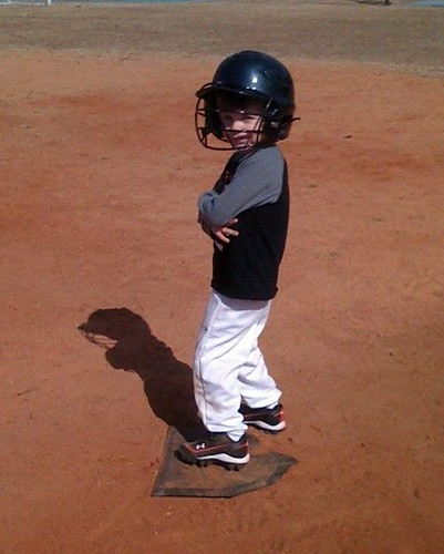 Jack's First Day of T-Ball Practice