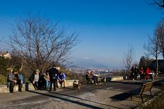 Bergamo street scene