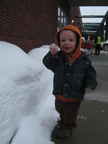 Look... snow!