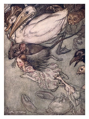 002-Alice's adventures in Wonderland-1907- Arthur Rackham