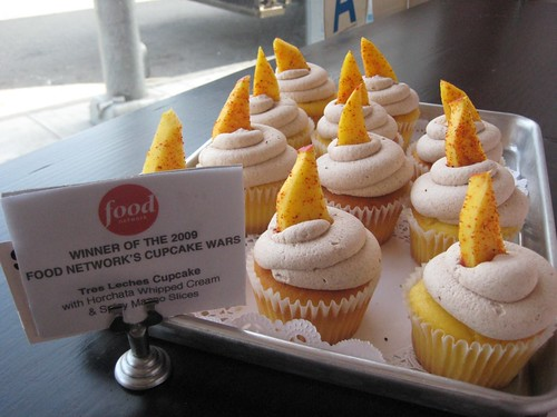 Food Network Winner of 2009 Cupcake Wars