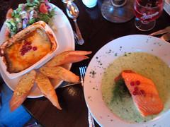 Golden Ball Inn Dinner