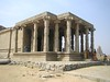 599. Hampi (17) Ganesh Temple (profmpc) Tags: architecture columns stonecarving hampi 5photosaday vijayangara ganeshtemple krishnadevarayar