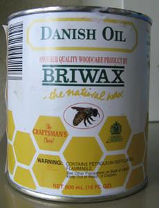 Briwax Danish Oil