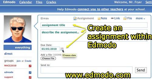 Edmodo assignments