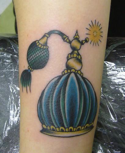 Perfume Bottle Tattoo