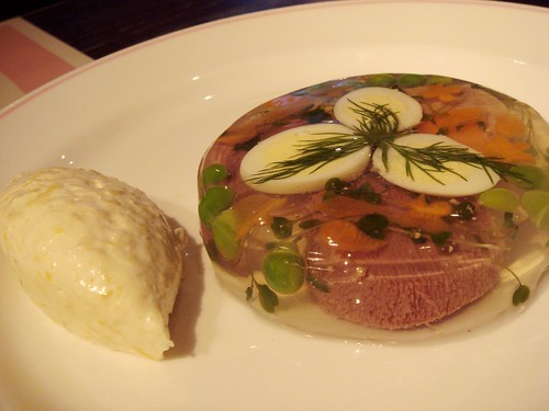 Jellied Ox Tongue with Creamed Horseradish