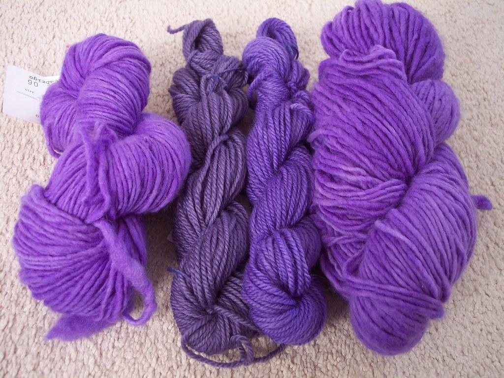 "handdyed Jacquard dyes ""lilac"""