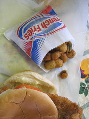 Richey's Fried Okra and Catfish