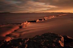 River Severn (Rob Ward (Bothrops)) Tags: longexposure sunset dangerous mud gloucestershire estuary riversevern quicksand awre
