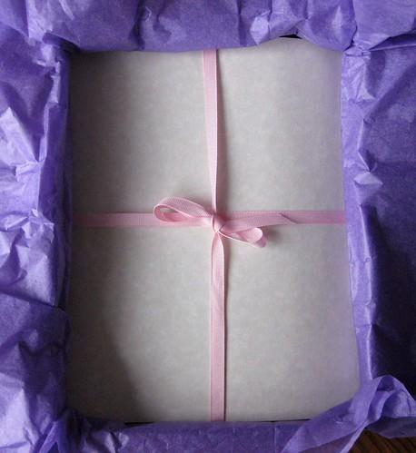 Lavender scented parchment paper